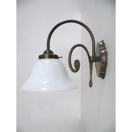 Wall light brass antique