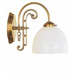 Applique Art Nouveau laiton antique