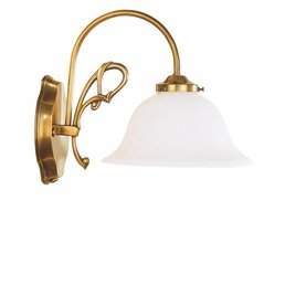 Wall lamp antique brass
