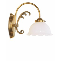Wall lamp lamp antique brass
