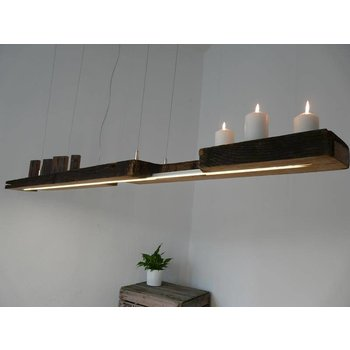 Lampe à LED suspension antique faisceaux
