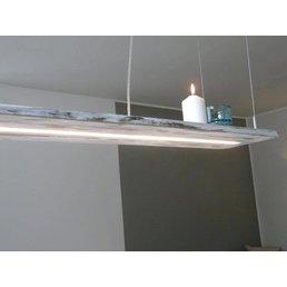 Lampe en bois chic minable ~ 80 cm