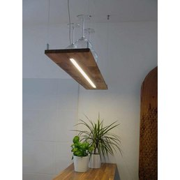 Lampe suspension acacia ~ 80 cm