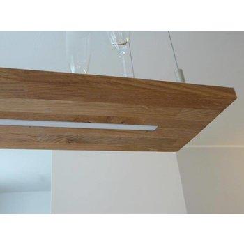 Lampe à suspension en chêne huilé naturel