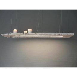 faisceauroute antique shabby chic lampe suspendue ~ 107 cm