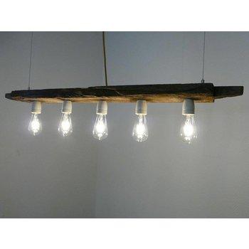 lampe LED lampe suspendue en bois poutres antiques