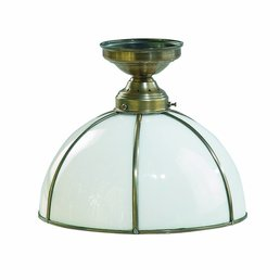 Antique brass ceiling lamp antique brass