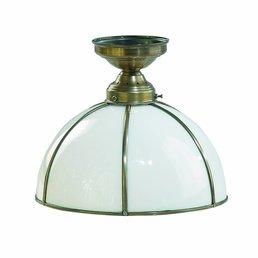 lampe laiton antique de plafond en laiton antique