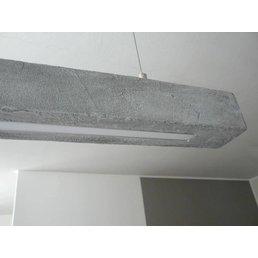 XL Led luminaire concrete look ~ 180 cm