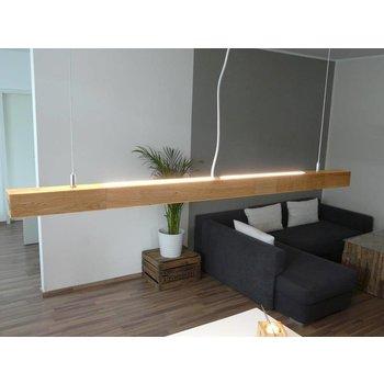 Hängeleuchte Holz Eiche geölt 120 cm