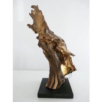 Burl sculpture en bois