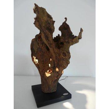 Burlwood sculpture