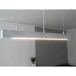 Lampe suspendue en béton ~ 80 cm