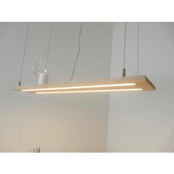 Hanging lamp light wood beech