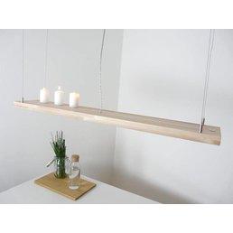 Lampe de table à manger hêtre incl. commande à distance ~ 120 cm