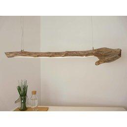 LED Treibholzleuchte Hängelampe ~ 128 cm
