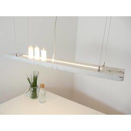 Shabby Chic antique beam light with upper and lower light ~ 115 cm