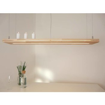"Hanging lamp ""Sandwich"" beech ~ 120 cm"