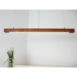 Lampe suspendue Led rouille ~ 120 cm