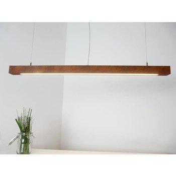 Led hanging lamp rust ~ 120 cm
