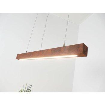Lampe suspendue LED rouille ~ 80 cm