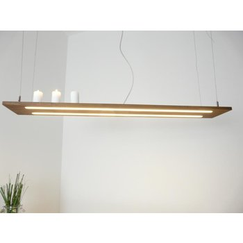 Hanging lamp lamp wood acacia ~ 120 cm