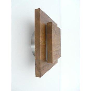 Wall lamp wood acacia