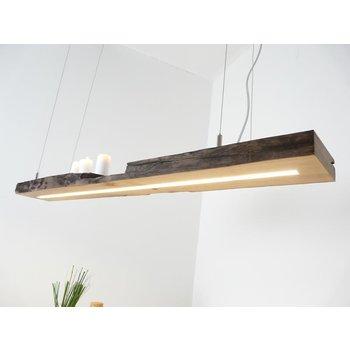 LED lamp hanging lamp wood antique beams ~ 119 cm