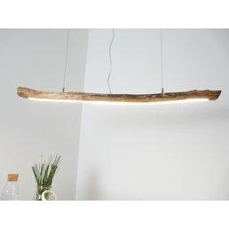 Lampe à LED en bois flotté ~ 113 cm