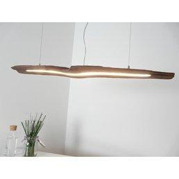 LED Lampe Esstischleuchte Holz antik ~ 99 cm