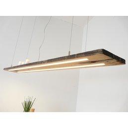 Led Lampe Hängeleuchte Holz antik Balken ~ 151 cm