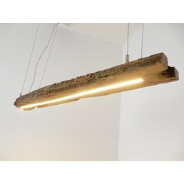 LED lamp hanging light wood antique beams ~ 104 cm