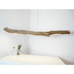 XXL Schwemmholz Lampe mit Ober- und Unterlicht ~ 193 cm