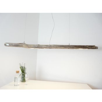 Ceiling lamp light wood driftwood hanging lamp ~ 172 cm