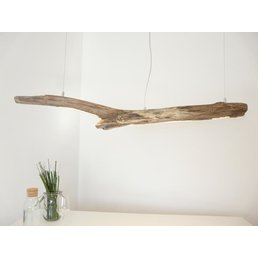 LED Treibholzlampe Schwemmholz Hängelampe ~ 131 cm