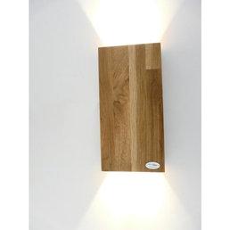 Wandleuchte Holz Eiche geölt