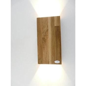 Wall lamp wood oak oiled