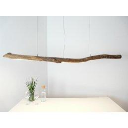 Lampe LED en bois flotté Lampe suspendue en bois flotté ~ 170 cm