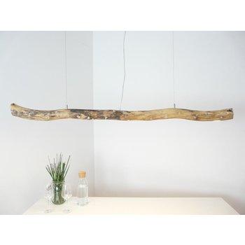 Lampe LED en bois flotté Lampe suspendue en bois flotté ~ 138 cm