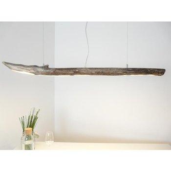 Lampe LED en bois flotté Lampe en bois flotté ~ 119 cm