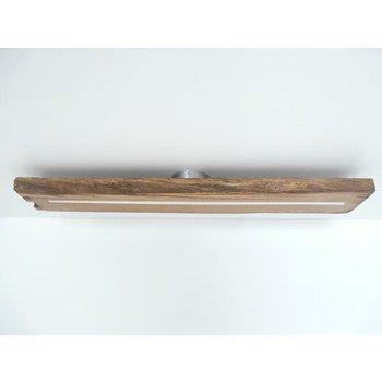 Plafonnier lampe LED bois poutres antiques ~ 100 cm