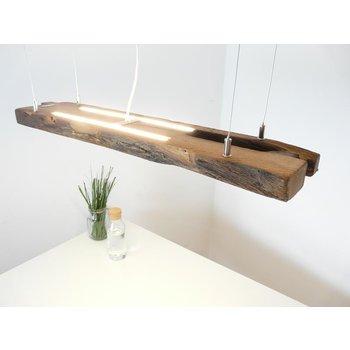 LED Lampe Hängeleuchte antik Balken  mit Ober- und Unterlicht~  78 cm