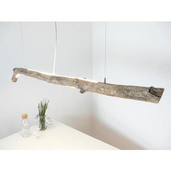 LED Treibholzleuchte Schwemmholzlampe  mit Ober- und Unterlicht ~ 143 cm