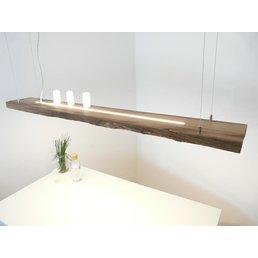 Hängeleuchte aus antiken Eichenbalken ~ 169 cm