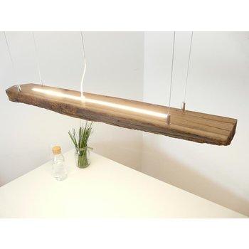 Led  Hängeleuchte aus antiken Balken ~ 124 cm