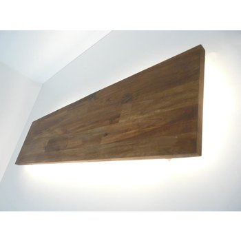 Led wall lamp acacia with indirect lighting ~ 120 cm