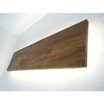 XXL Led wall lamp acacia ~ 200 cm