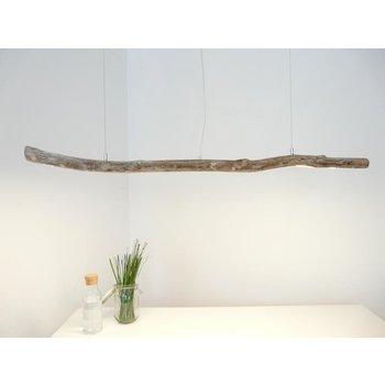 Plafonnier Suspension en bois flotté en bois clair ~ 135 cm