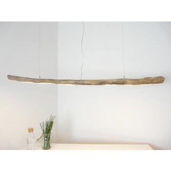 Deckenlampe Leuchte Holz Schwemmholz Hängelampe ~ 158 cm