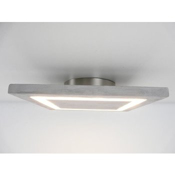 Plafonnier LED béton lampe 30 cm x 30 cm